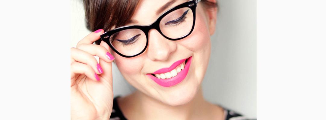 Qué maquillaje te favorece según las gafas que llevas? | Medical Óptica