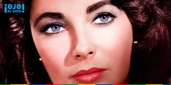 Resultado de imagen para elizabeth taylor problema genetico de sus ojos