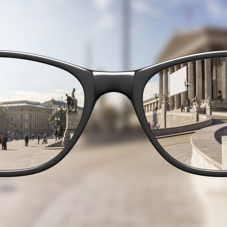 Síntoma de una gafa mal graduada
