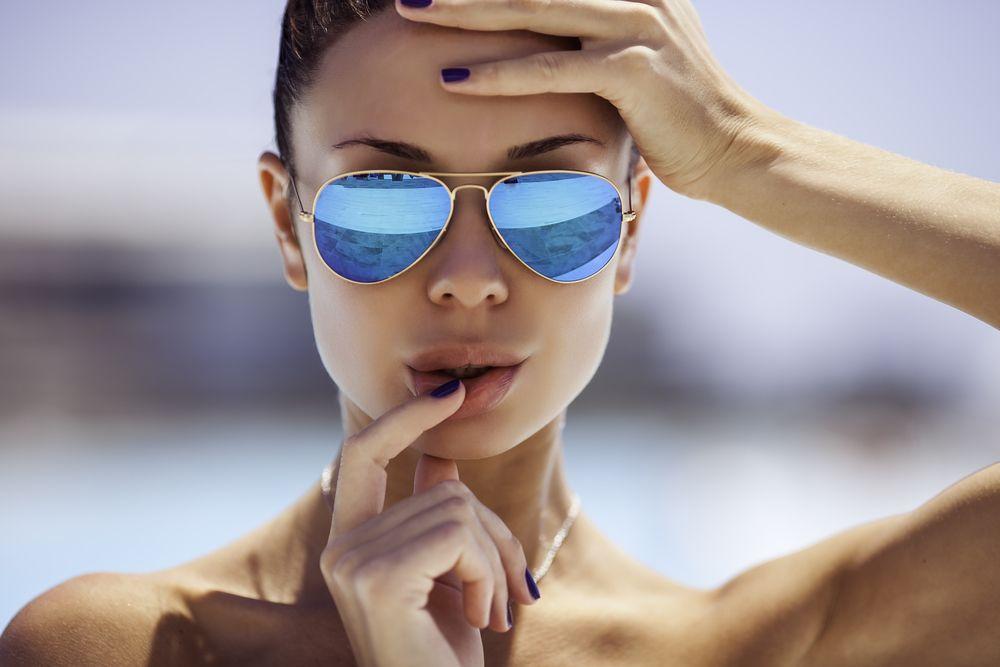 Gafas para caras con forma cuadrada