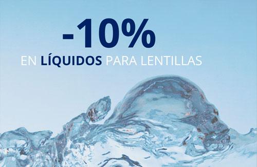 Promoción líquidos de lentillas