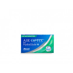 AIR OPTIX PLUS HYDRAGLYDE TORICA 6UDS