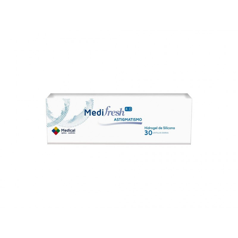 MEDIFRESH 4.0 ASTIGMATISMO 30UDS