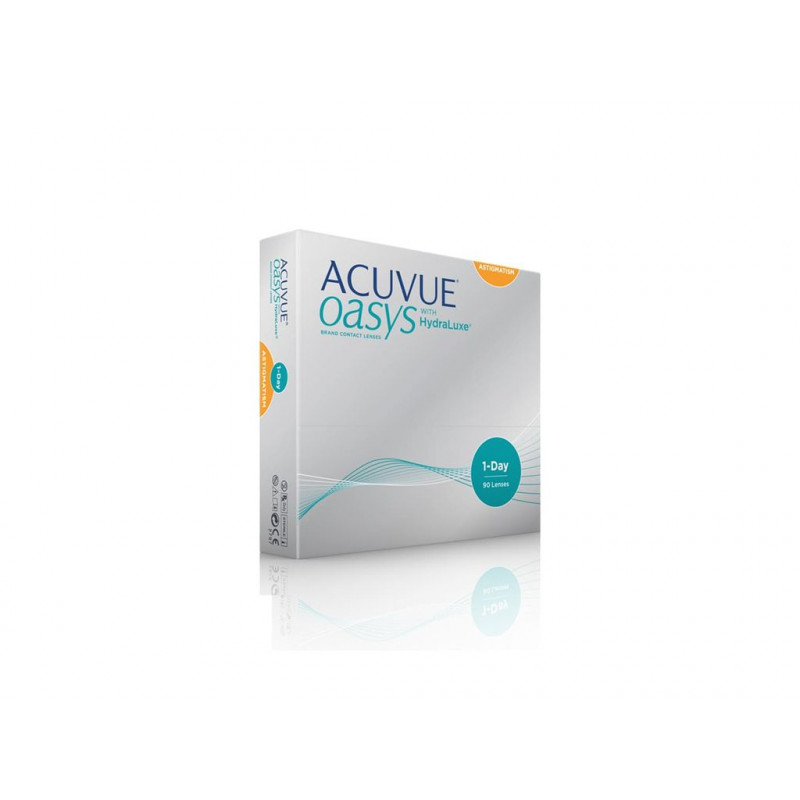 1 DAY ACUVUE OASYS TORIC 90UDS