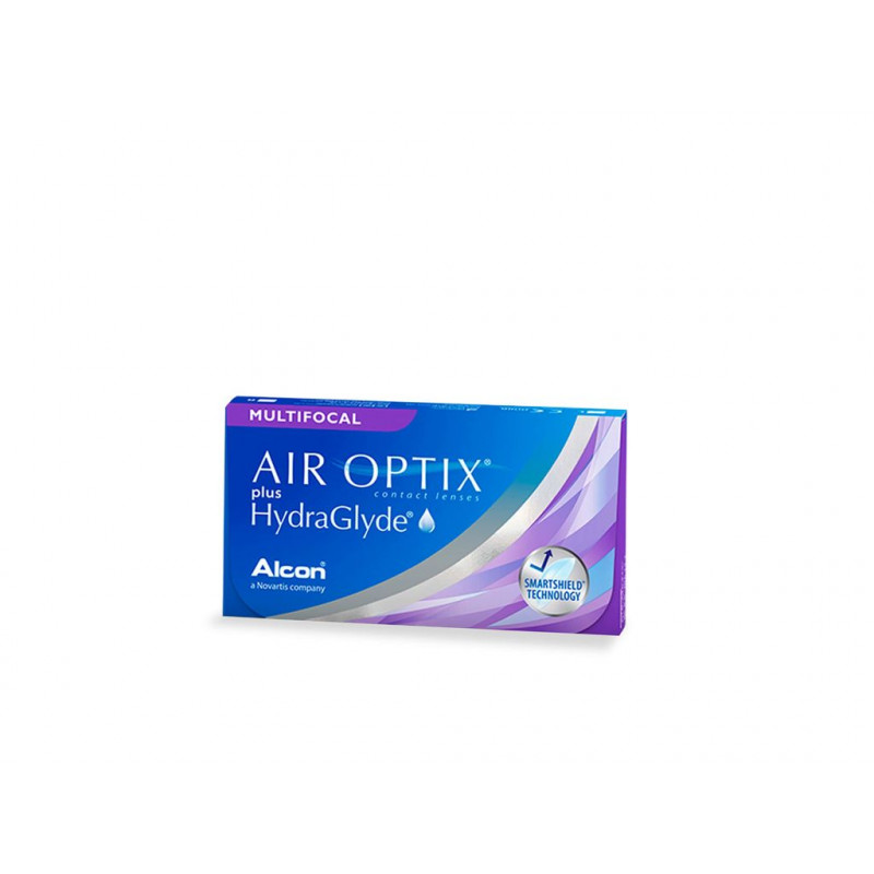AIR OPTIX PLUS HYDRAGLYDE MULTIFOCAL 6UDS